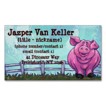 Pig Gifts & Accessories Business Card Magnet