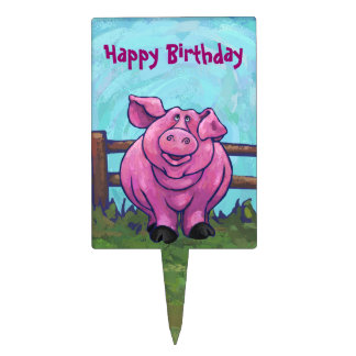 Pig Gifts & Accessories Cake Topper