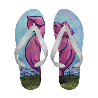 Pig Gifts Accessories Flip Flops
