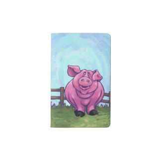 Pig Gifts & Accessories Pocket Moleskine Notebook Cover With Notebook