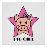 Pig Girl Posters