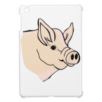 Pig Head iPad Mini Cover