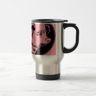 Pig Headed Travel Mug