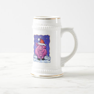Pig Holiday Mugs