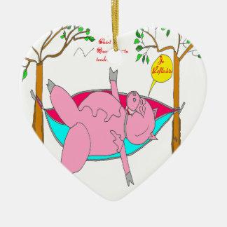 PIG I reflechis.png Ceramic Ornament