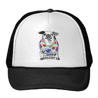 Pig-in-a-Blanket Trucker Hats