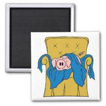 Pig in a Blanket Magnet