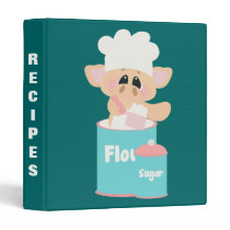 Pig In Flour Baking Recipe Binder