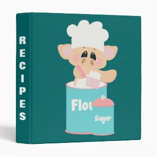 Pig In Flour Baking Recipe Binder