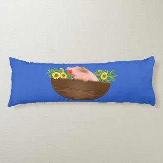 Pig in Pan Body Pillow
