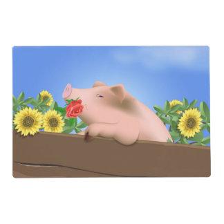 Pig in Pan Placemat