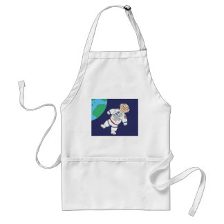 Pig In Space Adult Apron
