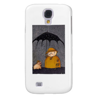 pig in the rain galaxy s4 cover