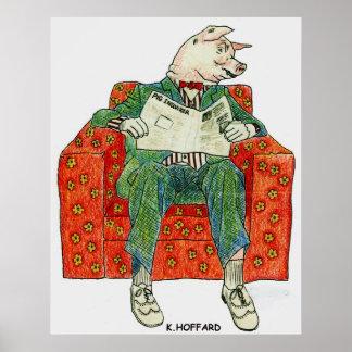Pig Inquier Poster