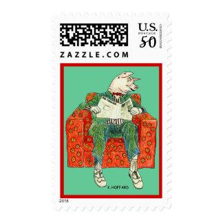Pig Inquirer Postage