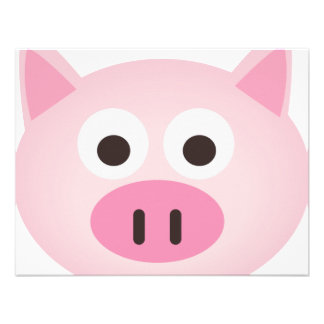Pig Invitations