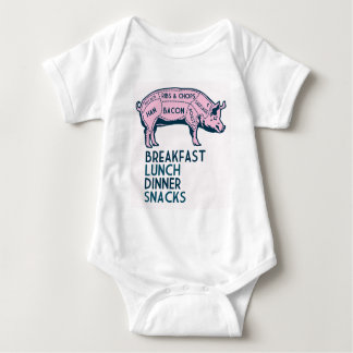 Pig, It's All Good! Baby Bodysuit