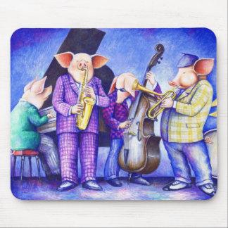 Pig Jazz Band Mousepad