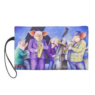 Pig Jazz Band Wristlet
