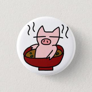 Pig juice pinback button