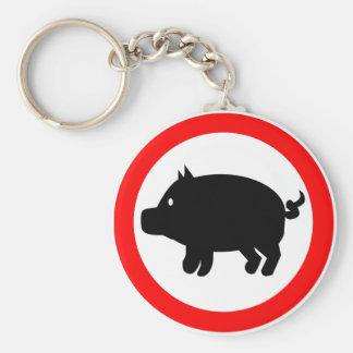 Pig Keychain
