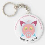Pig Keys Keychains