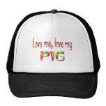 Pig Love Hat