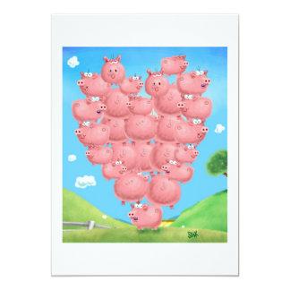 Pig Love invitation