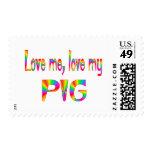 Pig Love Postage Stamps