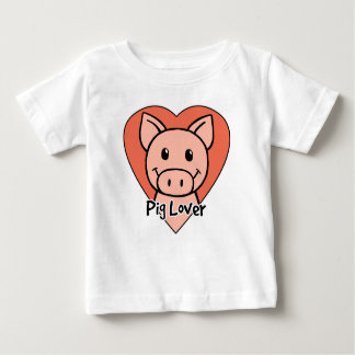 Pig Lover Baby T-Shirt