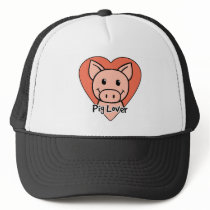 Pig Lover Trucker Hat