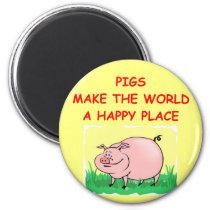 pig magnet