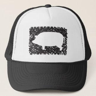pig  mess around trucker hat