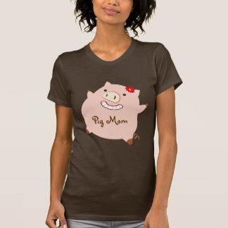 Pig Mom (pretty piggy) T-Shirt