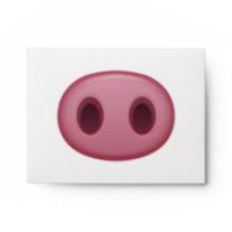 Pig Nose - Emoji Envelope