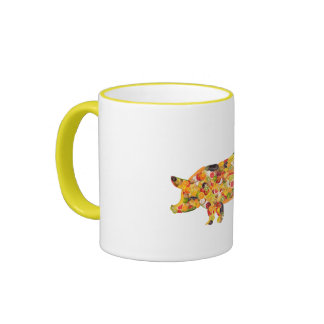 Pig OF fruits and vegetables. ADD your own text! Coffee Mug