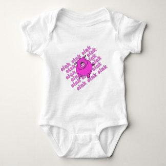 Pig Oink Baby Bodysuit