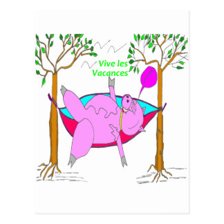 PIG On holiday 1.PNG Postcard