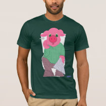 Pig on the Toilet T-Shirt