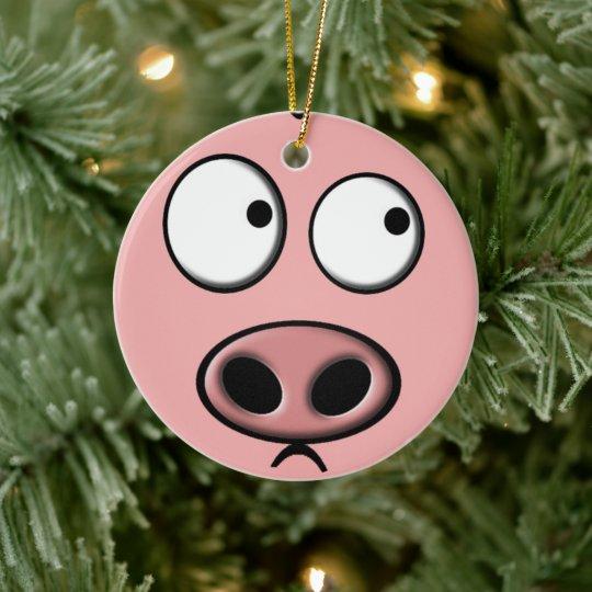 Pig Ornament   Zazzle.com