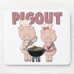 Pig Out BBQ Gift Mouse Pad