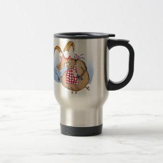 pig out breakfast, tony fernandes travel mug