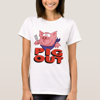 Pig Out Funny T-shirts Gifts