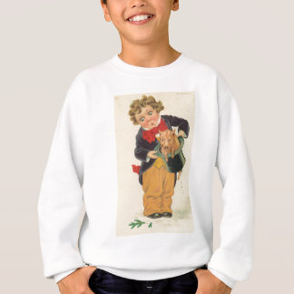 pig out of hat sweatshirt