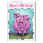 Pig Party Center Card
