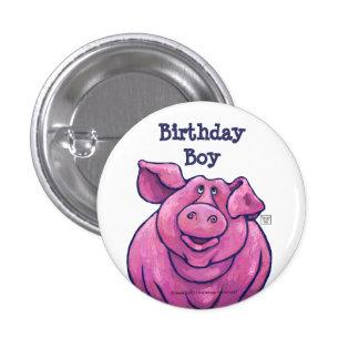 Pig Party Center Pinback Button