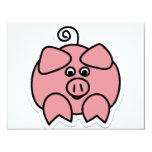 pig personalized announcements