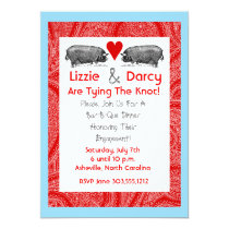 Pig Pickin' Save The Date Cards