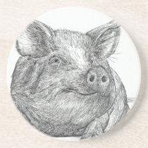Pig Piglet Coaster