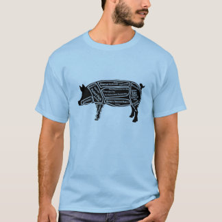 Pig Primal Map T-Shirt